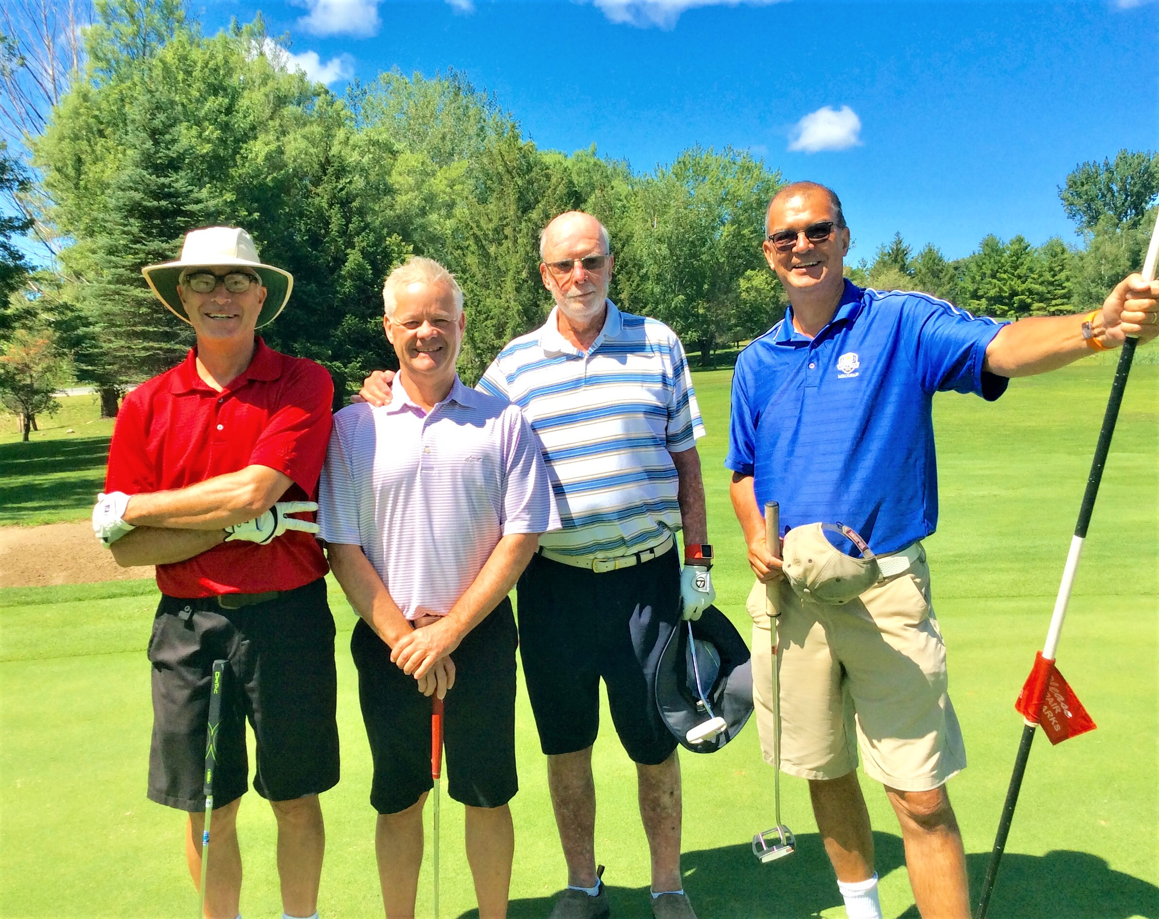 Some of our board members golfing