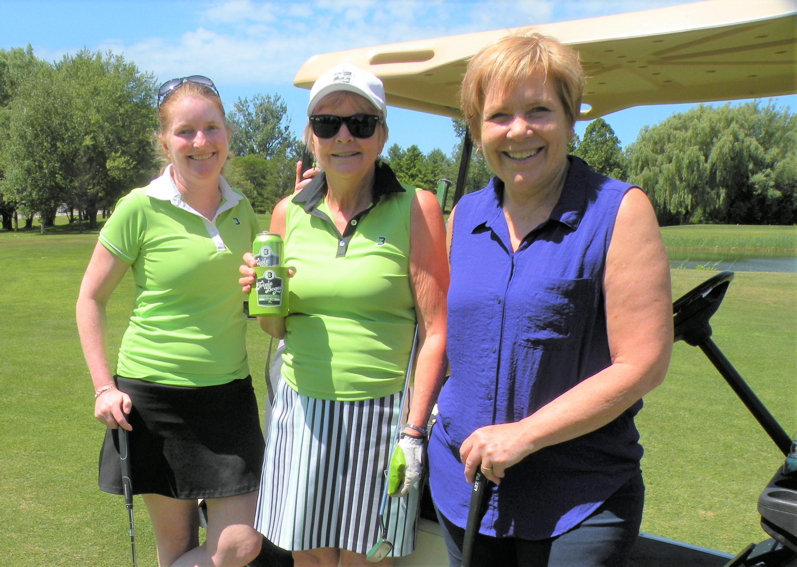 Some happy golfers
