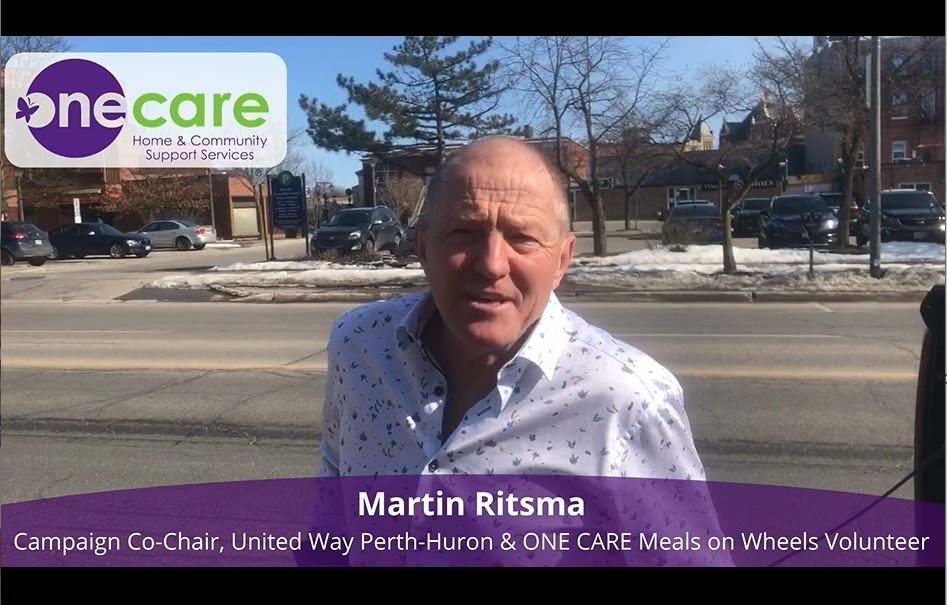 Martin Ritsma discusses the importance of Meals on Wheels Program